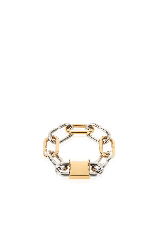Alexander Wang Alexander Wang Woman Silver And Rose Gold-tone Chain Bracelet Rose Gold Size zZbJNtB