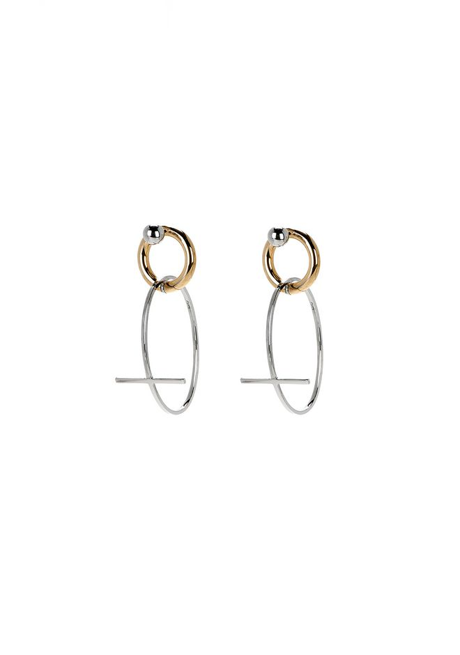 ALEXANDER WANG CROSS EARRINGS Jewellery Adult 12_n_f
