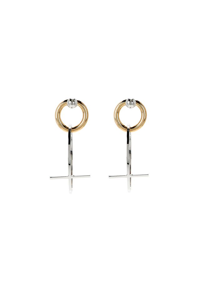 ALEXANDER WANG CROSS EARRINGS Jewelry Adult 12_n_r