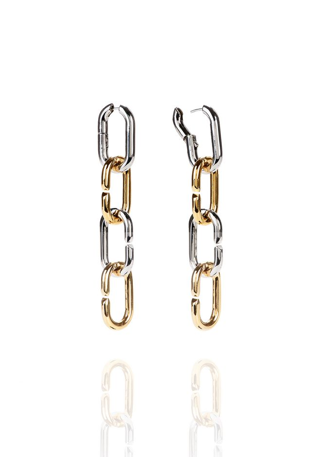 ALEXANDER WANG BROKEN LINK EARRINGS Jewelry Adult 12_n_e