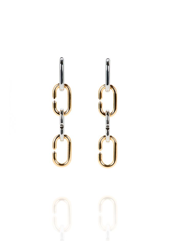 ALEXANDER WANG BROKEN LINK EARRINGS Jewelry Adult 12_n_f