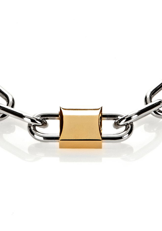 ALEXANDER WANG DOUBLE LOCK NECKLACE Jewelry Adult 12_n_e