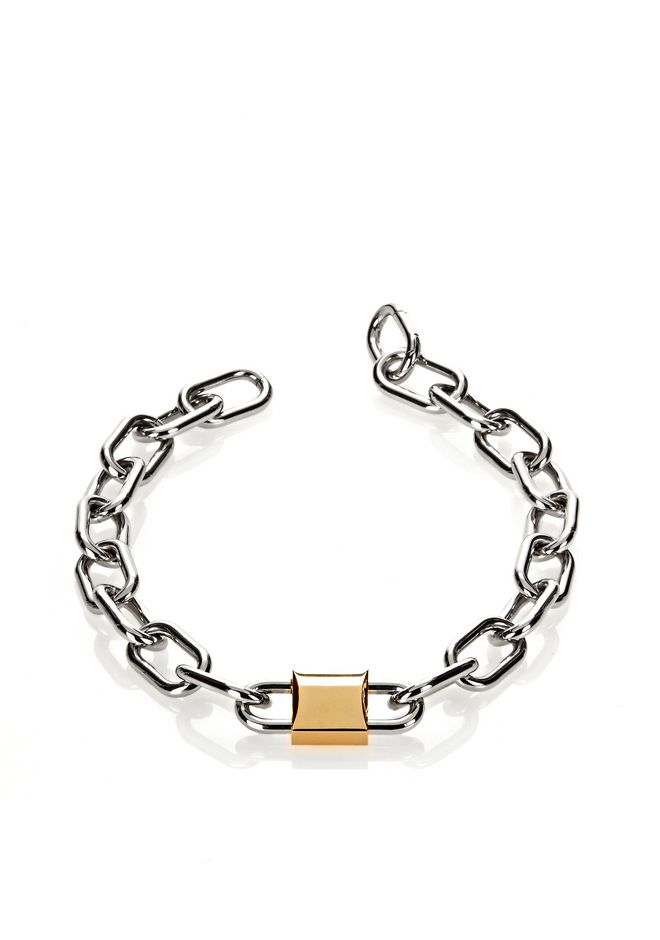 ALEXANDER WANG DOUBLE LOCK NECKLACE Jewelry Adult 12_n_r