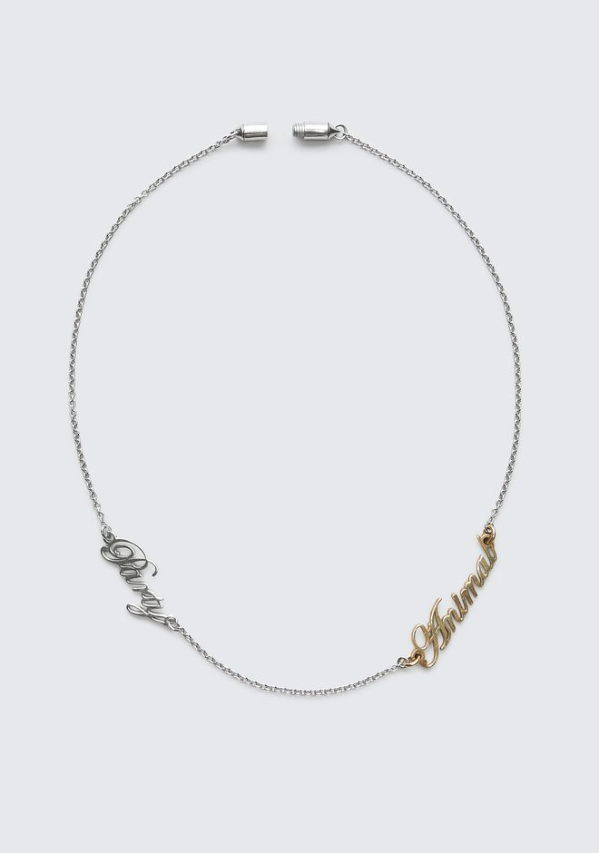 ALEXANDER WANG PARTY ANIMAL NECKLACE Jewelry Adult 12_n_e