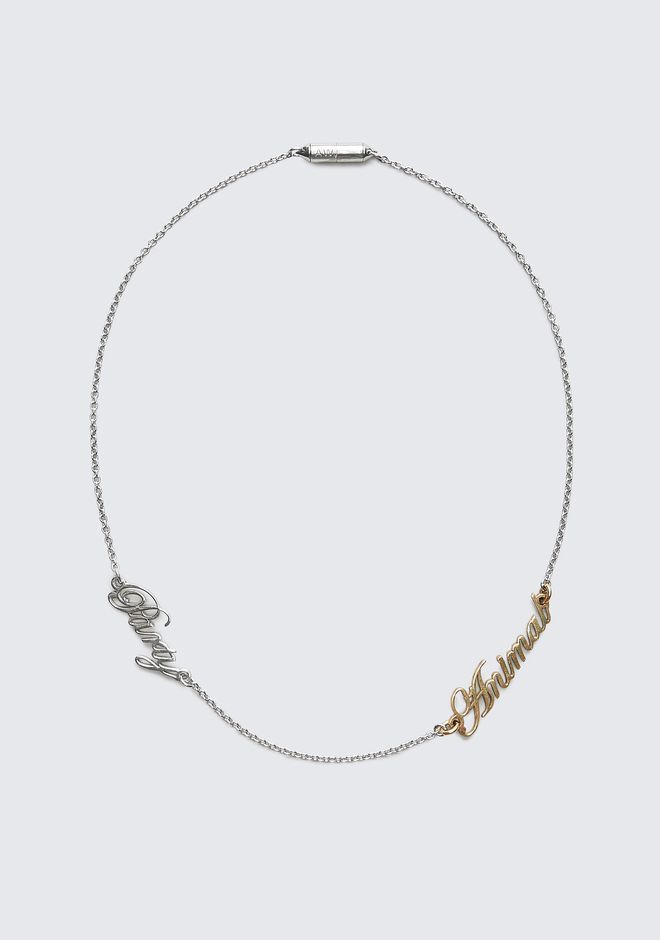ALEXANDER WANG PARTY ANIMAL NECKLACE Jewelry Adult 12_n_f