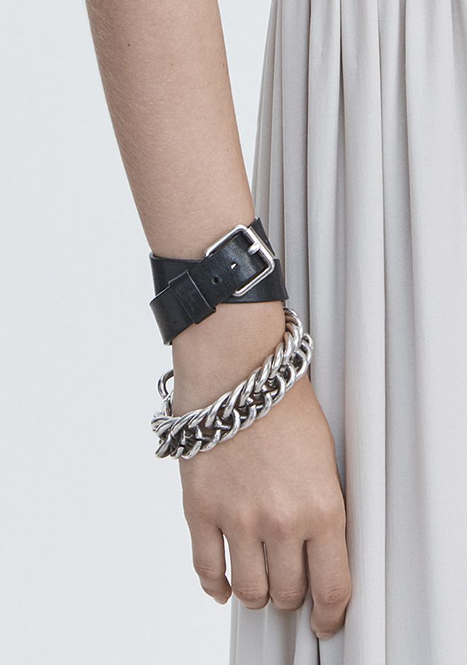 ALEXANDER WANG DOUBLE WRAP CHAIN BRACELET Jewelry Adult 12_n_e