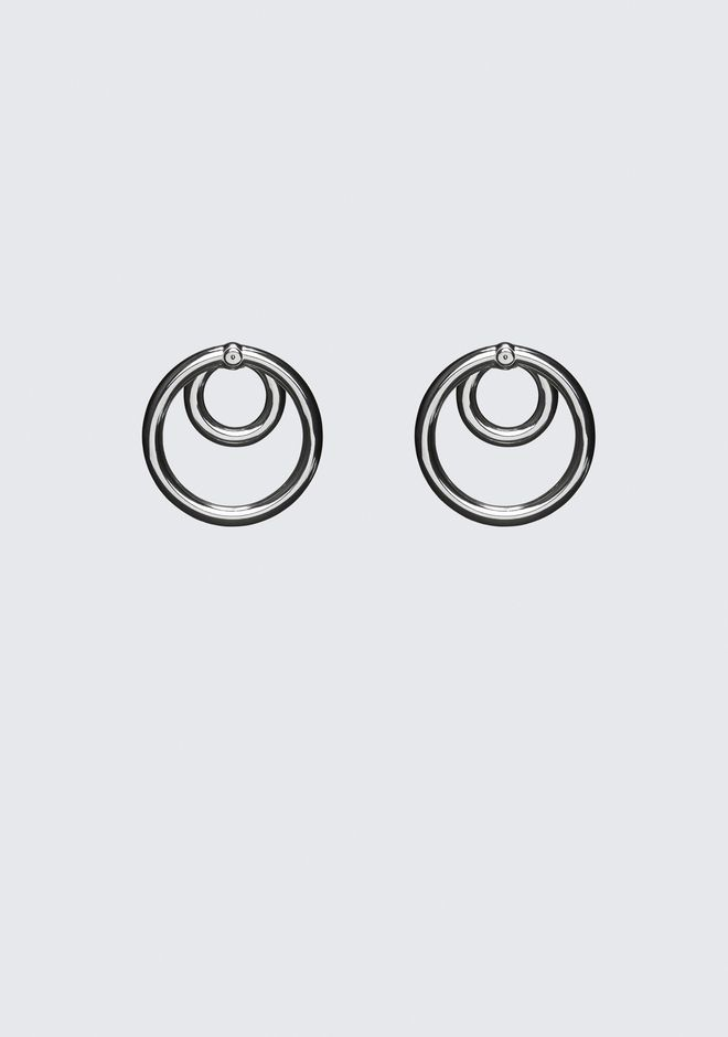 ALEXANDER WANG DOUBLE O-RING EARRINGS Jewelry Adult 12_n_a