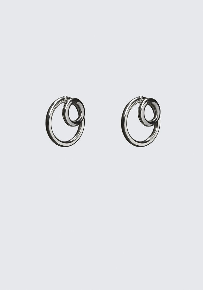 ALEXANDER WANG DOUBLE O-RING EARRINGS Jewelry Adult 12_n_d