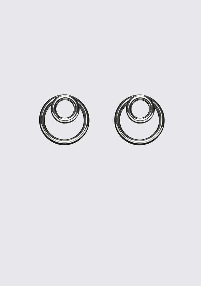 ALEXANDER WANG DOUBLE O-RING EARRINGS Jewelry Adult 12_n_f