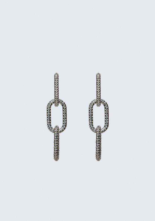 ALEXANDER WANG jewelry DIAMANTE BIKE LINK EARRING