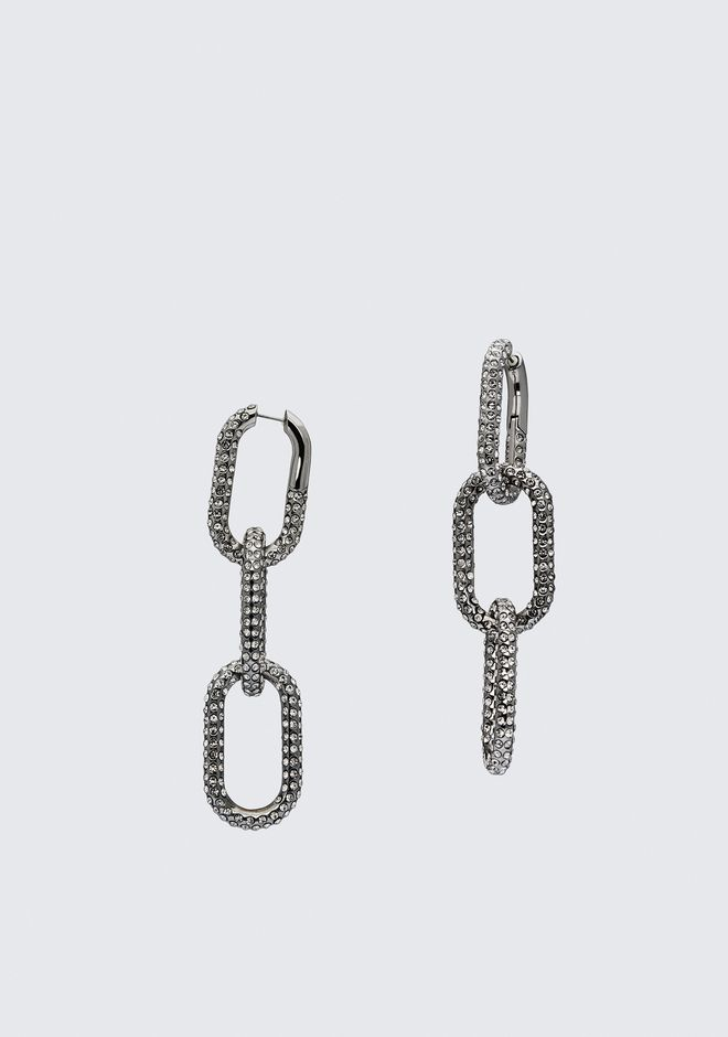 ALEXANDER WANG DIAMANTE BIKE LINK EARRING  Jewelry Adult 12_n_e