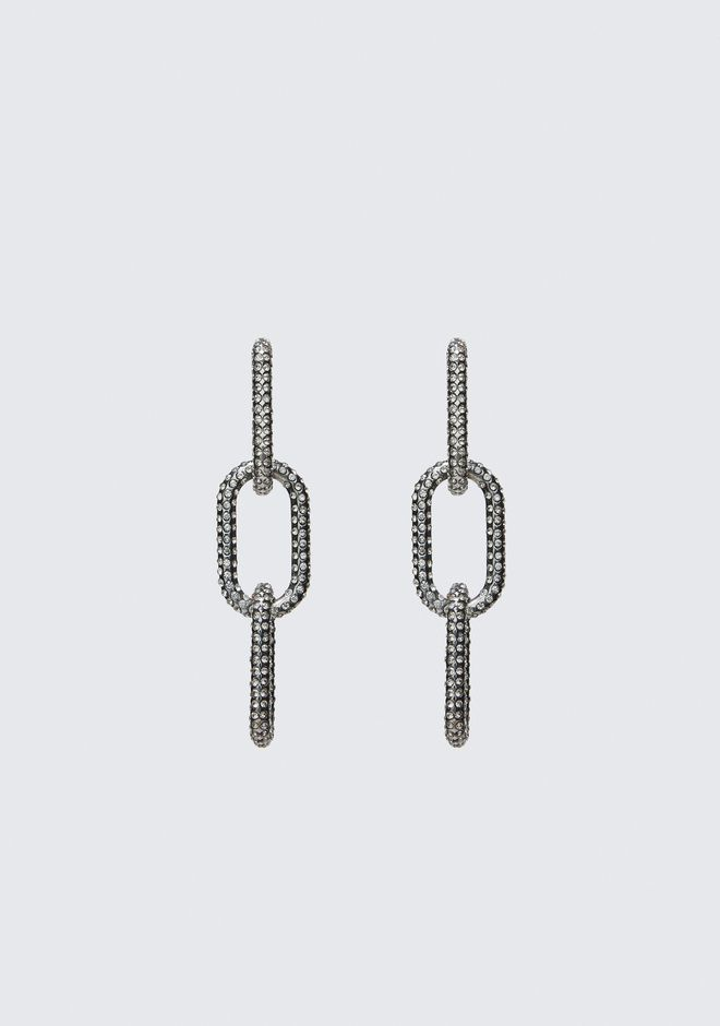 Diamante Bike Link Earring by Alexander Wang