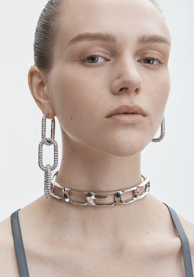 ALEXANDER WANG DIAMANTE BIKE LINK EARRING  Jewelry Adult 12_n_r