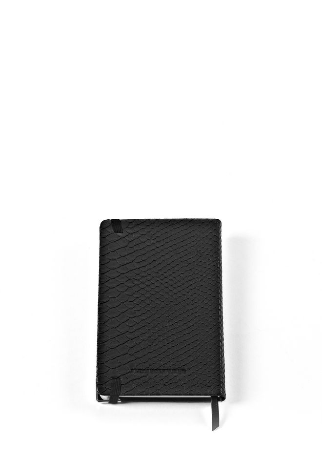 ALEXANDER WANG NOTEBOOK WITH RHODIUM HARDWARE NOTEBOOK Adult 12_n_d