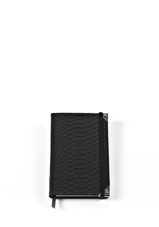 ALEXANDER WANG NOTEBOOK WITH RHODIUM HARDWARE NOTEBOOK Adult 12_n_e