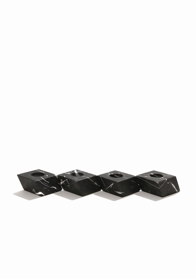 ALEXANDER WANG MARBLE CANDLE HOLDER SET CANDLE HOLDERS Adult 12_n_r