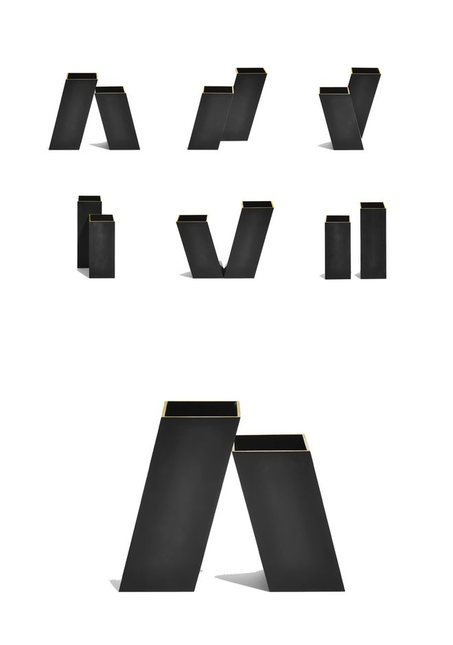 ALEXANDER WANG VASE SET OF 2 VASE Adult 12_n_e