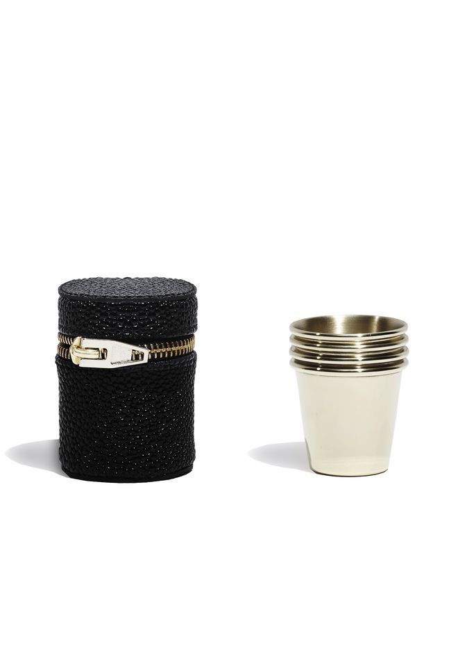 ALEXANDER WANG SHOT GLASSES WITH CASE SHOT GLASS Adult 12_n_r