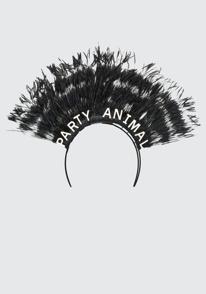 ALEXANDER WANG new-arrivals-accessories-woman STEPHEN JONES X AW PARTY ANIMAL HEADBAND