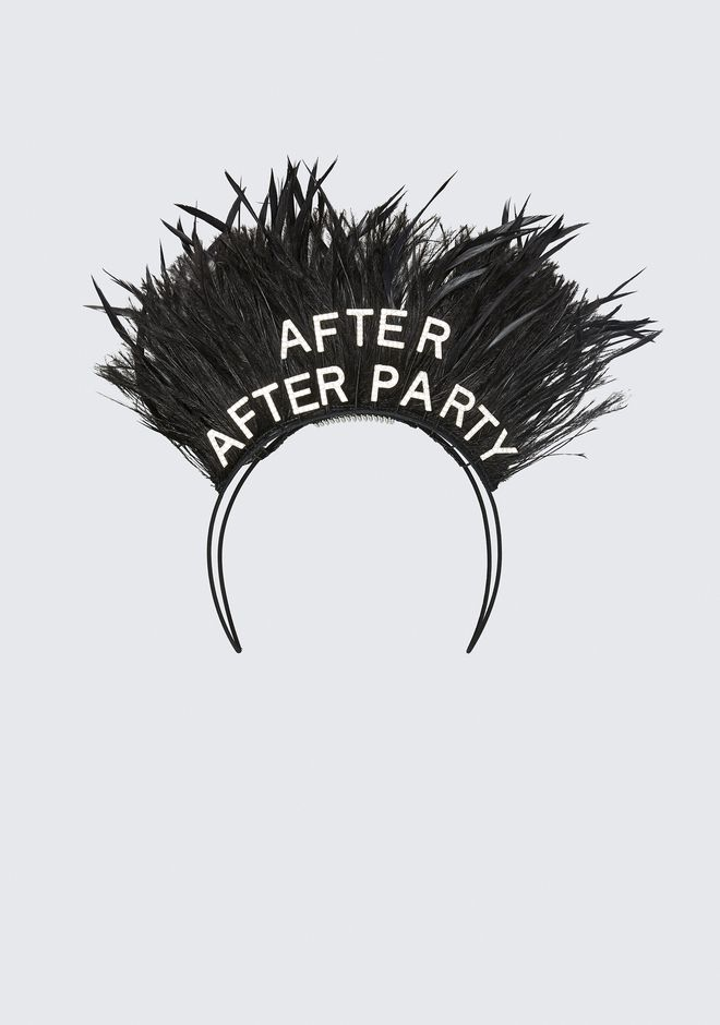 ALEXANDER WANG new-arrivals-accessories-woman STEPHEN JONES X AW AFTER PARTY HEADBAND