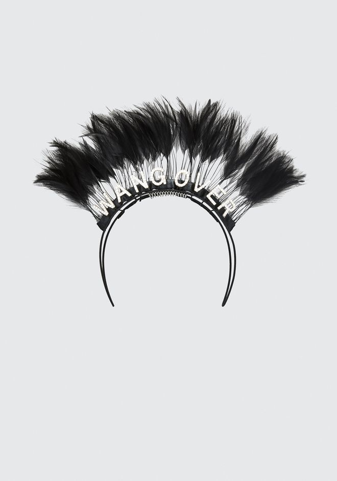 ALEXANDER WANG new-arrivals-accessories-woman STEPHEN JONES X AW WANGOVER HEADBAND